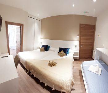 habitacion triple 3 camas_